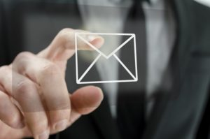 Business email compromise by scam email