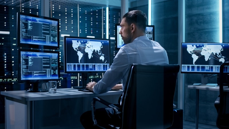 security operation center image