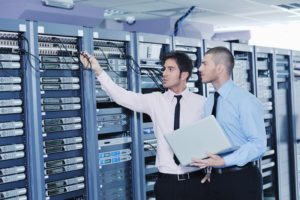 Security Professional at server room