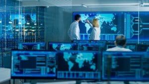 cybersecurity monitoring center