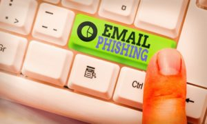 email phishing button
